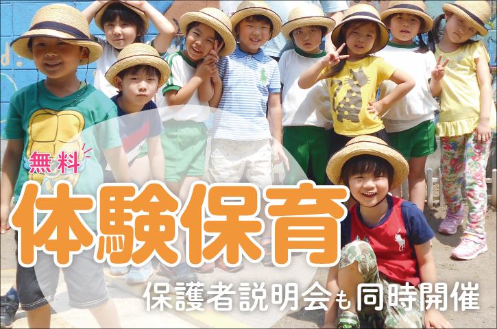 SEEDS英語幼児園の無料体験保育予約受付中!保護者説明会も同時開催
